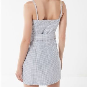 a1b3237cf934 Urban Outfitters Dresses | Uo Belted Gingham Mini Dress | Poshmark